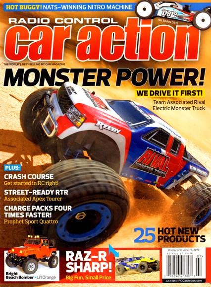 Radio Control Car Action Cover - 7/1/2013