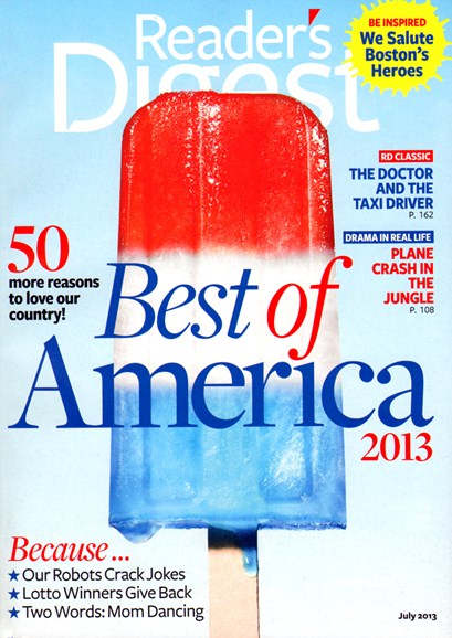 Reader's Digest Cover - 7/1/2013