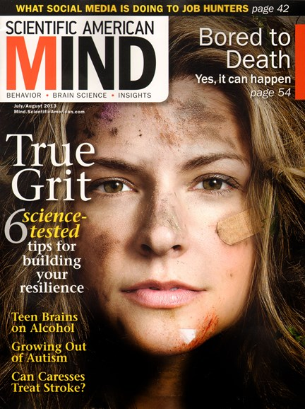Scientific American Mind Cover - 7/1/2013