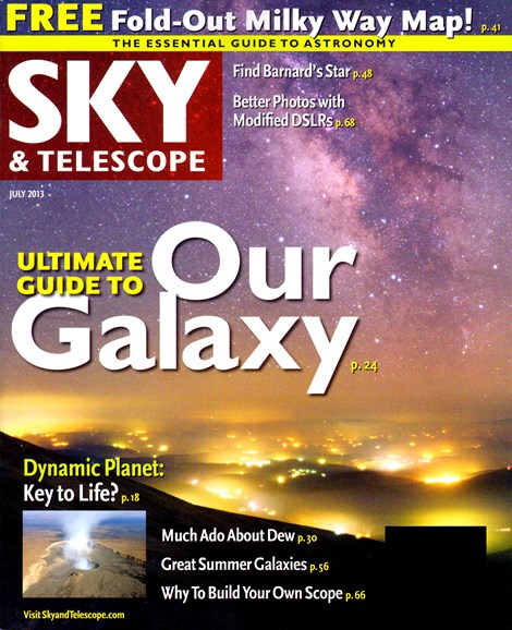 Sky & Telescope Cover - 7/1/2013