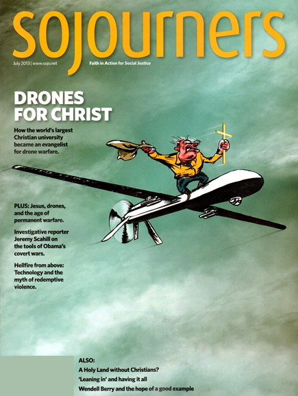 Sojourners Cover - 7/1/2013