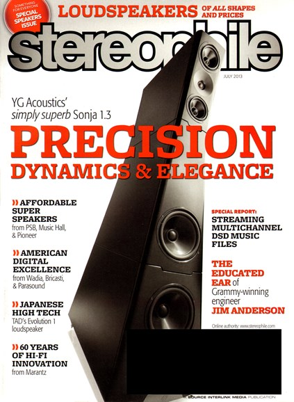 Stereophile Cover - 7/1/2013
