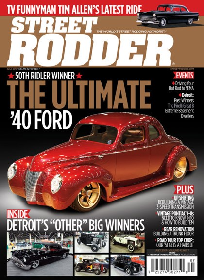 Street Rodder Cover - 7/1/2013