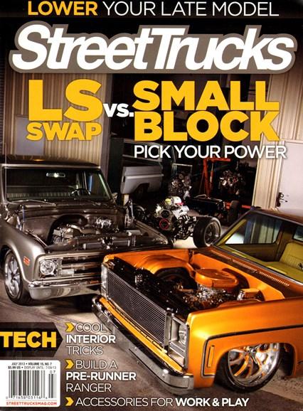 Street Trucks Cover - 7/1/2013