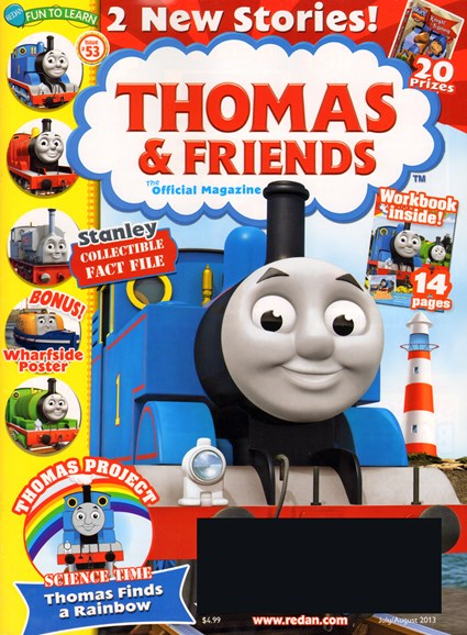 Thomas & Friends Cover - 7/1/2013