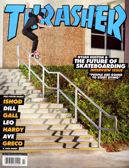 Thrasher Cover - 7/1/2013