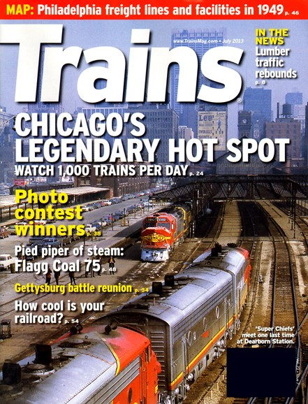 Trains Cover - 7/1/2013