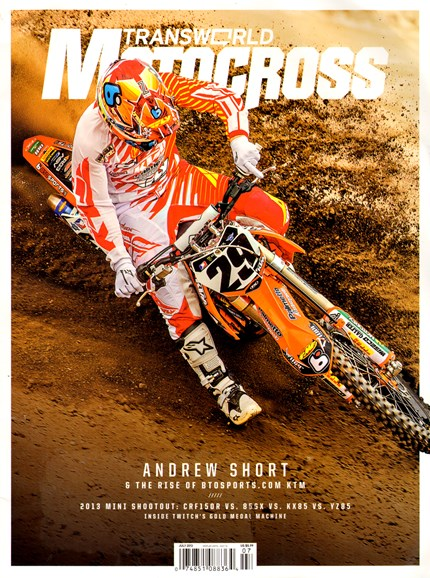 Transworld Motocross Cover - 7/1/2013