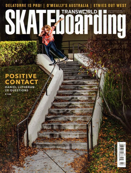 Transworld SKATEboarding Cover - 7/1/2013