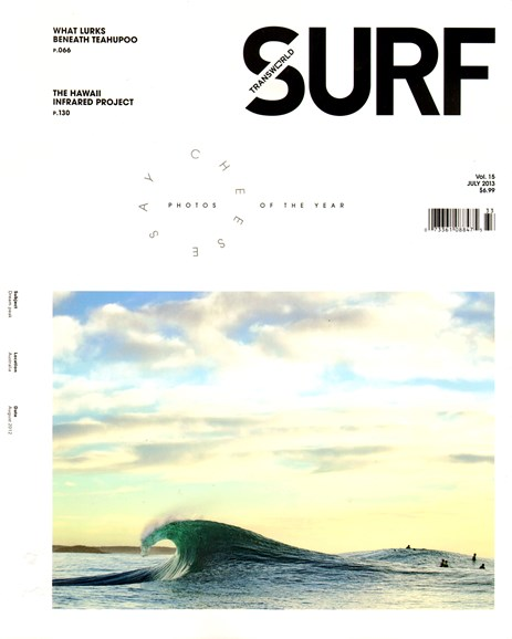 Transworld SURF Cover - 7/1/2013