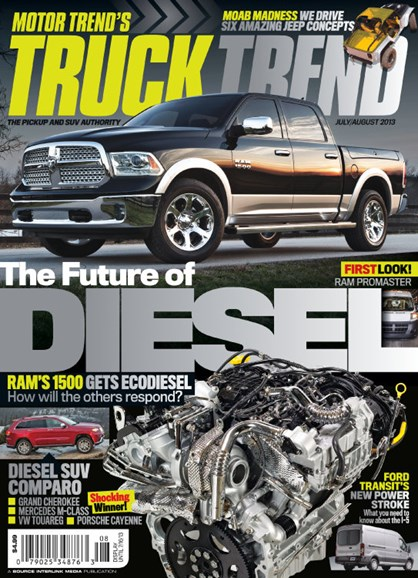 Truck Trend Cover - 7/1/2013