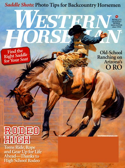 Western Horseman Cover - 7/1/2013