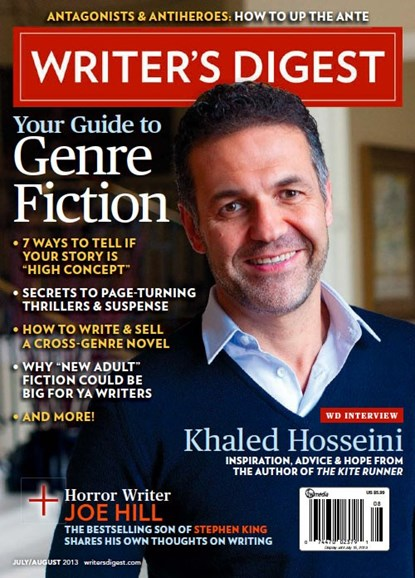 Writer's Digest Cover - 7/1/2013