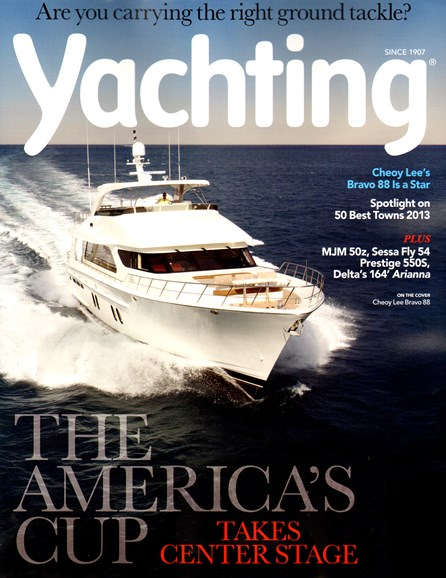 Yachting Cover - 7/1/2013