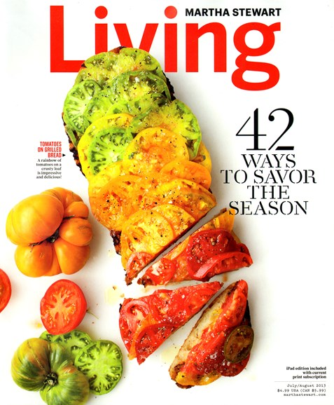 Martha Stewart Living Cover - 7/1/2013