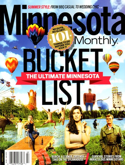 Minnesota Monthly Cover - 7/1/2013