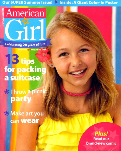 American Girl Cover - 7/1/2013