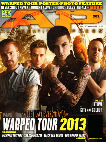 Alternative Press Cover - 7/1/2013