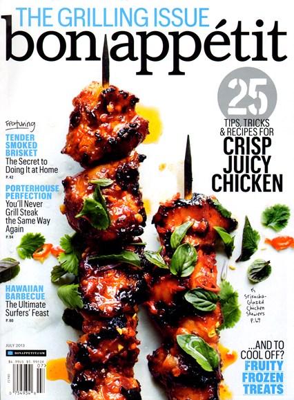 Bon Appétit Cover - 7/1/2013