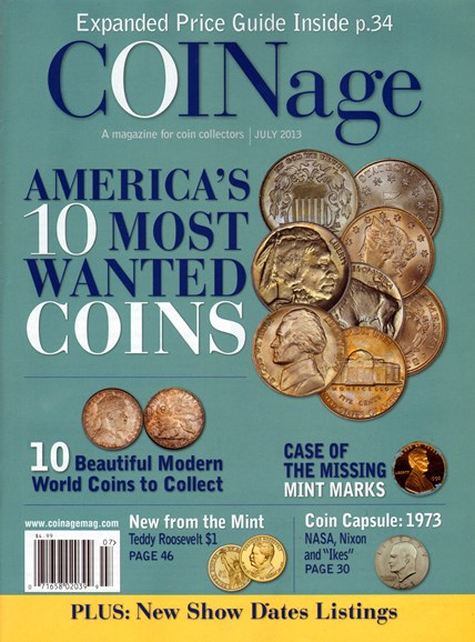 Coinage Cover - 7/1/2013