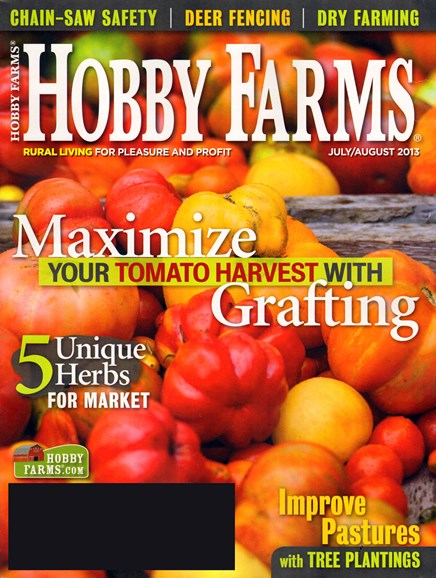 Hobby Farms Cover - 7/1/2013