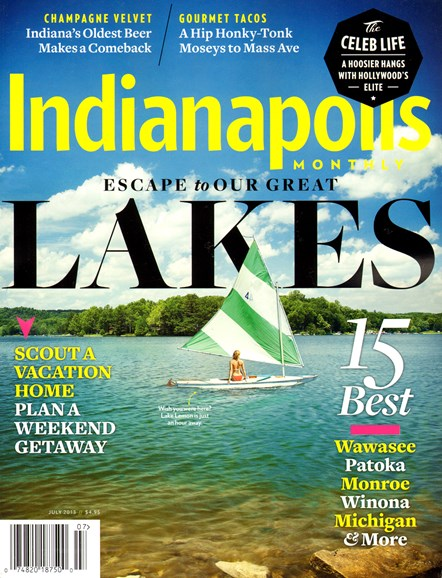 Indianapolis Monthly Cover - 7/1/2013