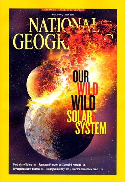 National Geographic Cover - 7/1/2013