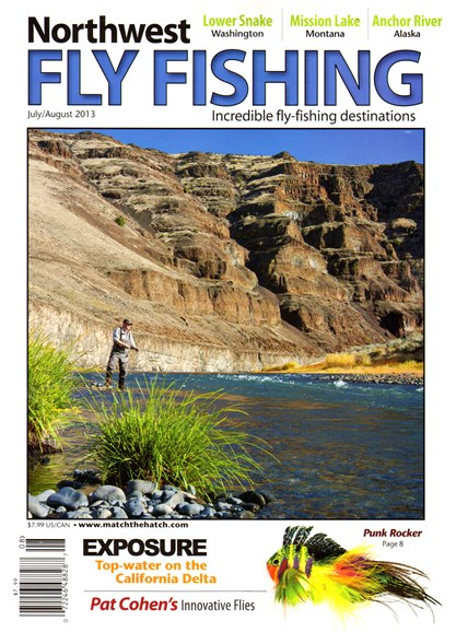 Northwest Fly Fishing Cover - 7/1/2013