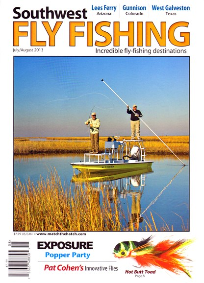 Southwest Fly Fishing Cover - 7/1/2013