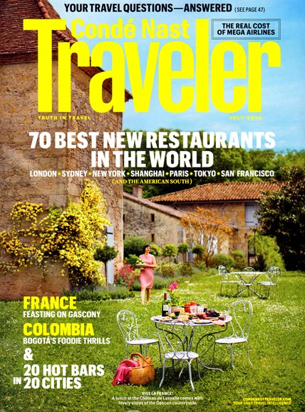 Condé Nast Traveler Cover - 7/1/2013