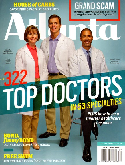 Atlanta Magazine Cover - 7/1/2013