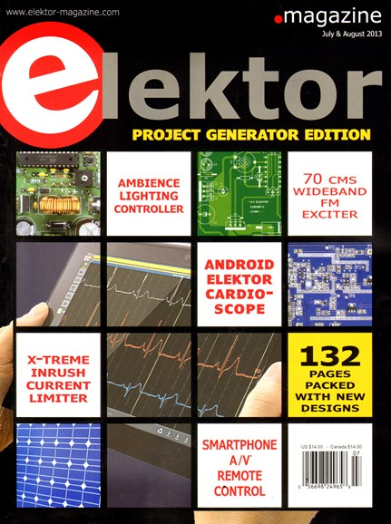 Elektor - North American Edition Cover - 7/1/2013