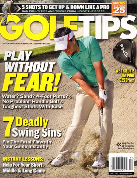 Golf Tips Cover - 7/1/2013