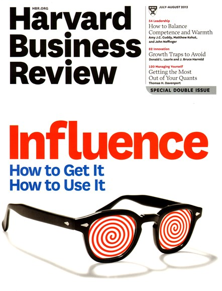Harvard Business Review Cover - 7/1/2013