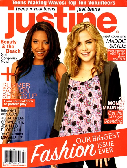 Justine Cover - 6/1/2013