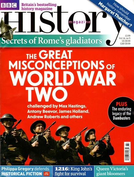 BBC History Cover - 5/1/2013