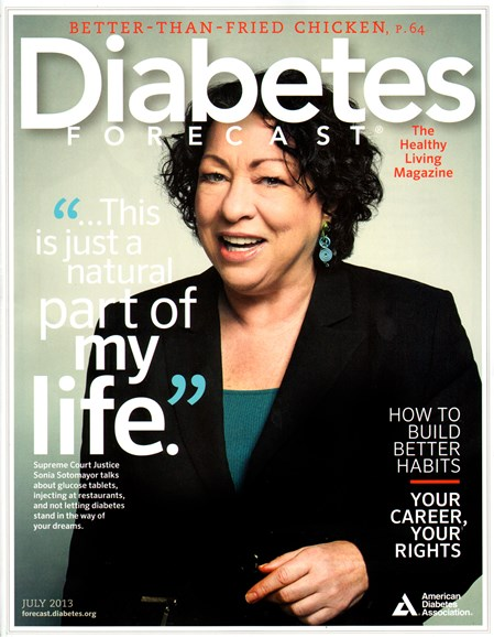 Diabetes Forecast Cover - 7/1/2013