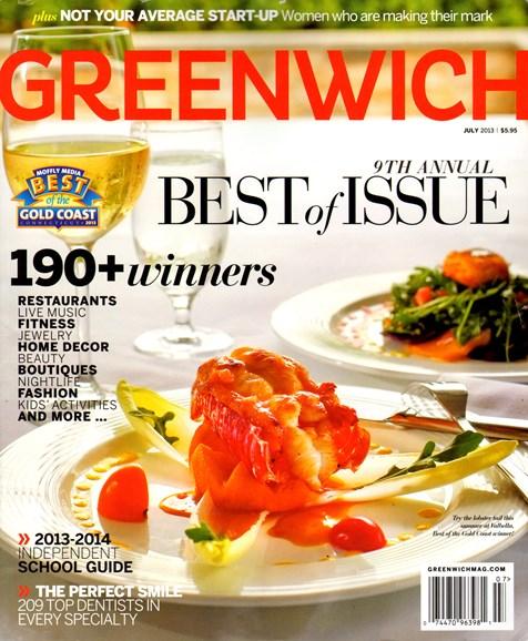 Greenwich Cover - 7/1/2013