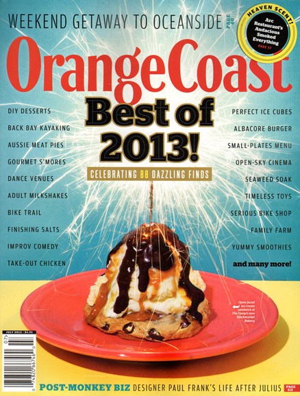 Orange Coast Cover - 7/1/2013