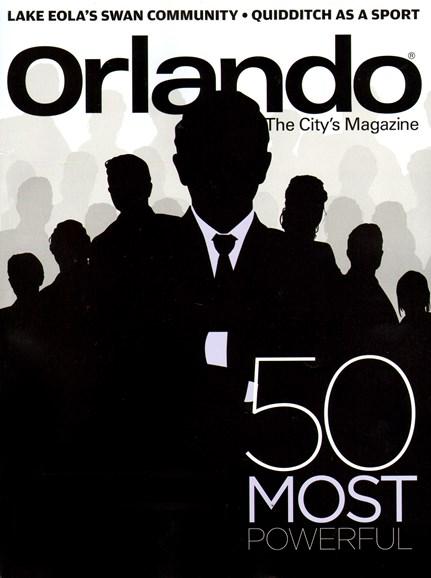 Orlando Magazine Cover - 7/1/2013