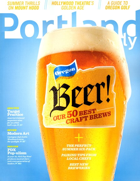 Portland Monthly Cover - 7/1/2013