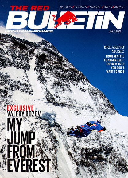 The Red Bulletin Cover - 7/1/2013