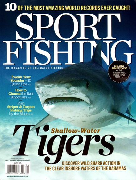 Sport Fishing Cover - 7/1/2013