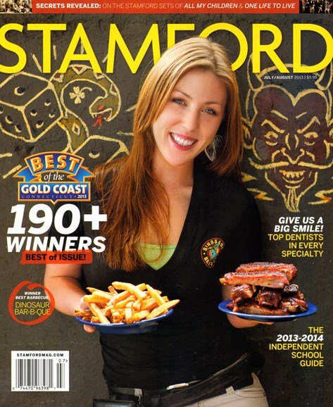 Stamford Magazine Cover - 7/1/2013