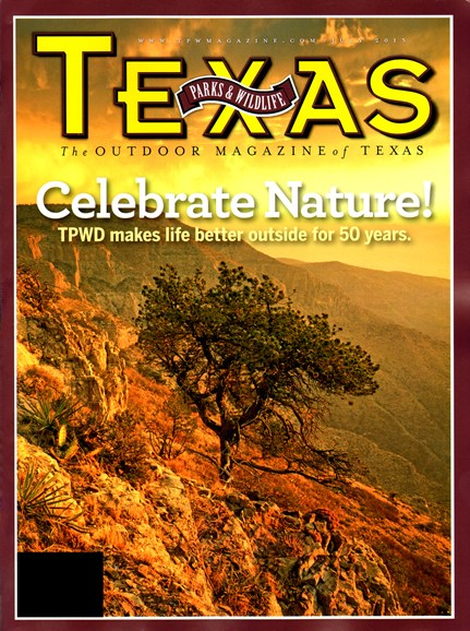 Texas Parks & Wildlife Cover - 7/1/2013