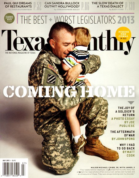 Texas Monthly Cover - 7/1/2013