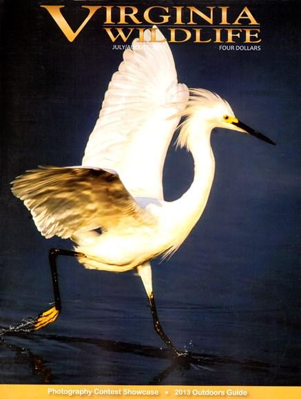 Virginia Wildlife Cover - 7/1/2013