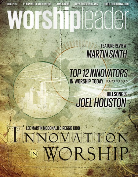 Worship Leader Magazine Cover - 6/1/2013
