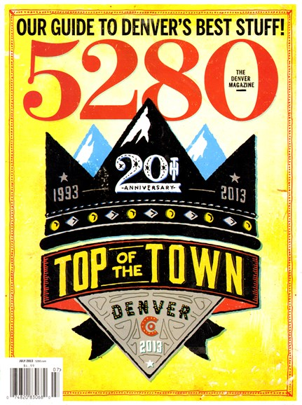 5280 Magazine Cover - 7/1/2013