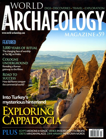 Current World Archaeology Cover - 6/1/2013